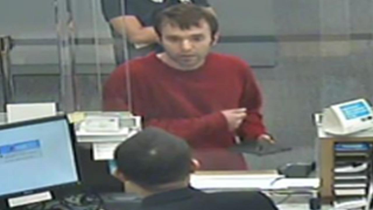 A surveillance photo shows a man wanted in connection with an attempted robbery at the Citibank branch at 100 South First Avenue in Arcadia on Monday, June 3, 2013.