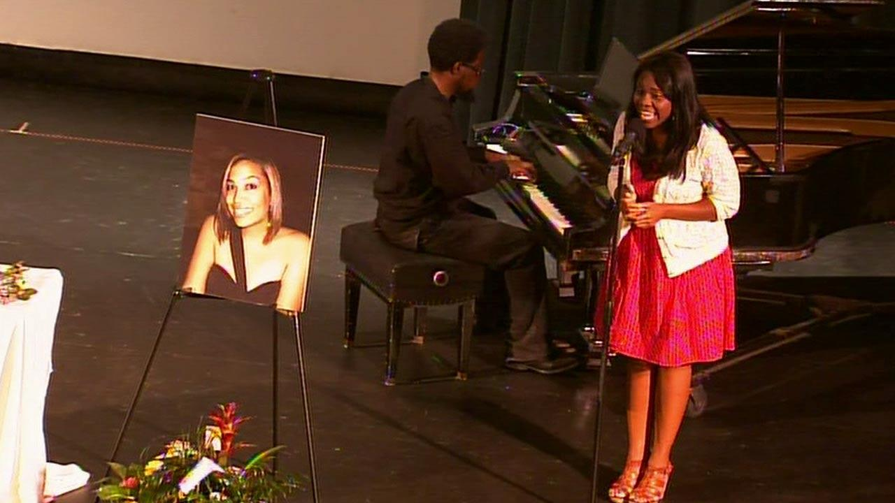 Family and friends remembered Terrilynn Monette, a teacher who vanished for three months in New Orleans, at a memorial service held in Long Beach on Sunday, June 23, 2013.