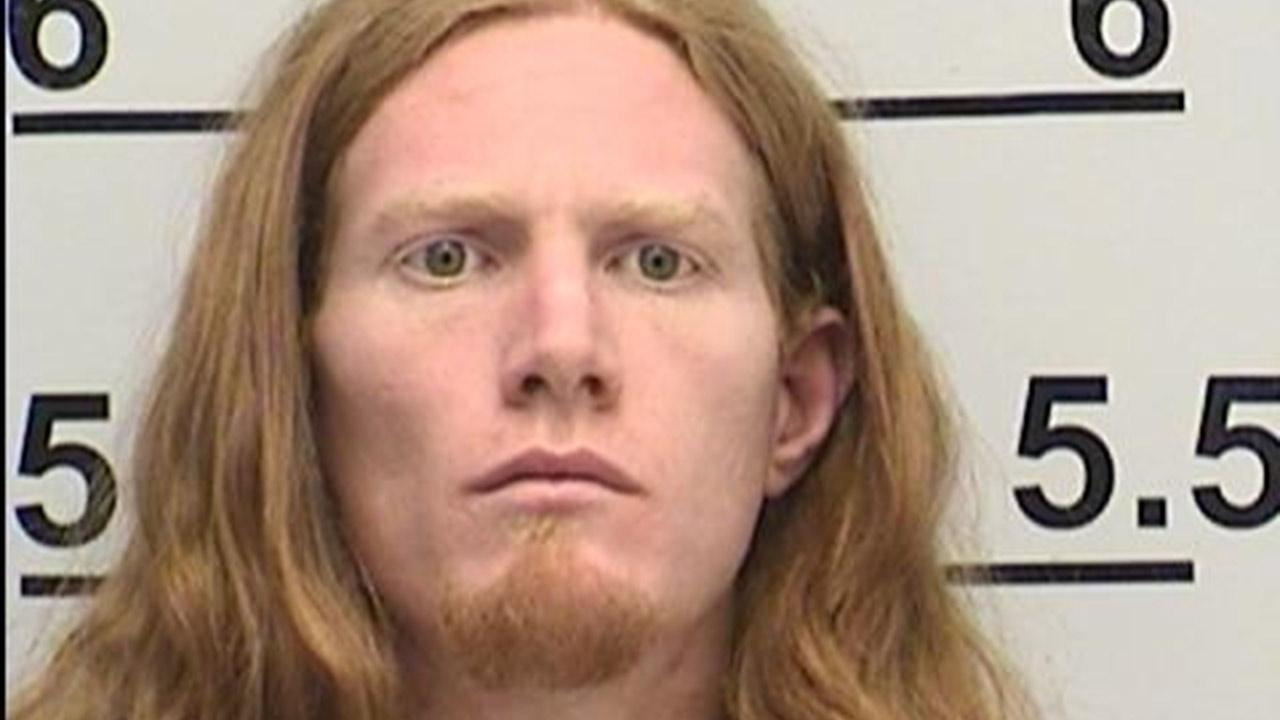 Dustin Kinnear is seen in a mug shot provided by the California Department of Corrections and Rehabilitation.