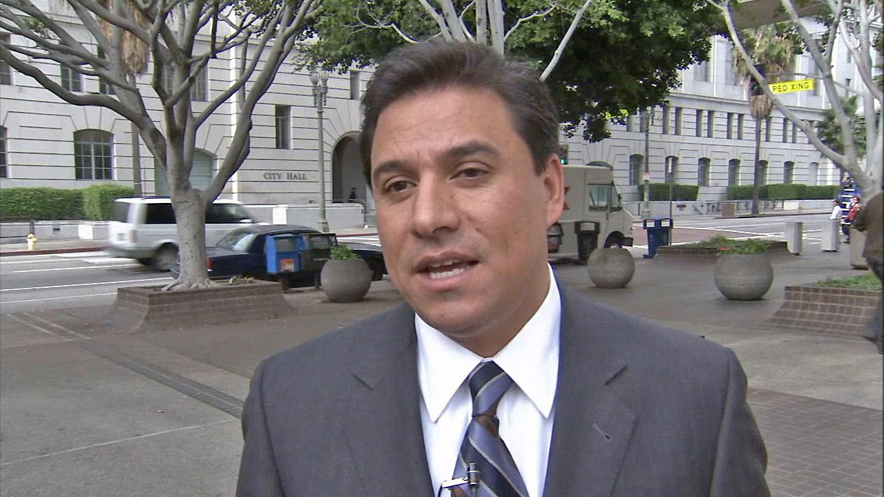 Los Angeles City Councilman Jose Huizar is seen in this undated file photo.