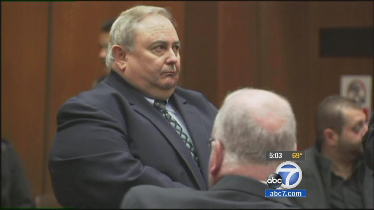 Robert Rizzo, former city manager of the Bell, appears in this undated file photo.