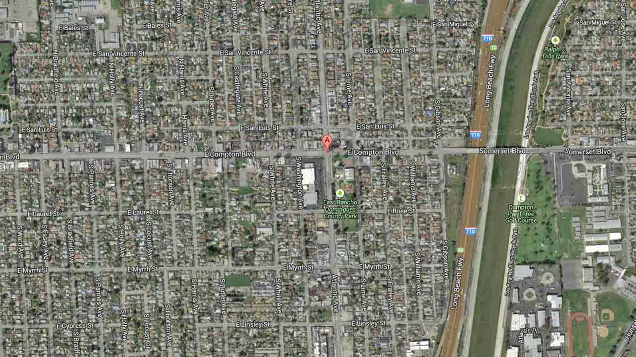 Atlantic Avenue and Compton Boulevard, Compton, Calif.