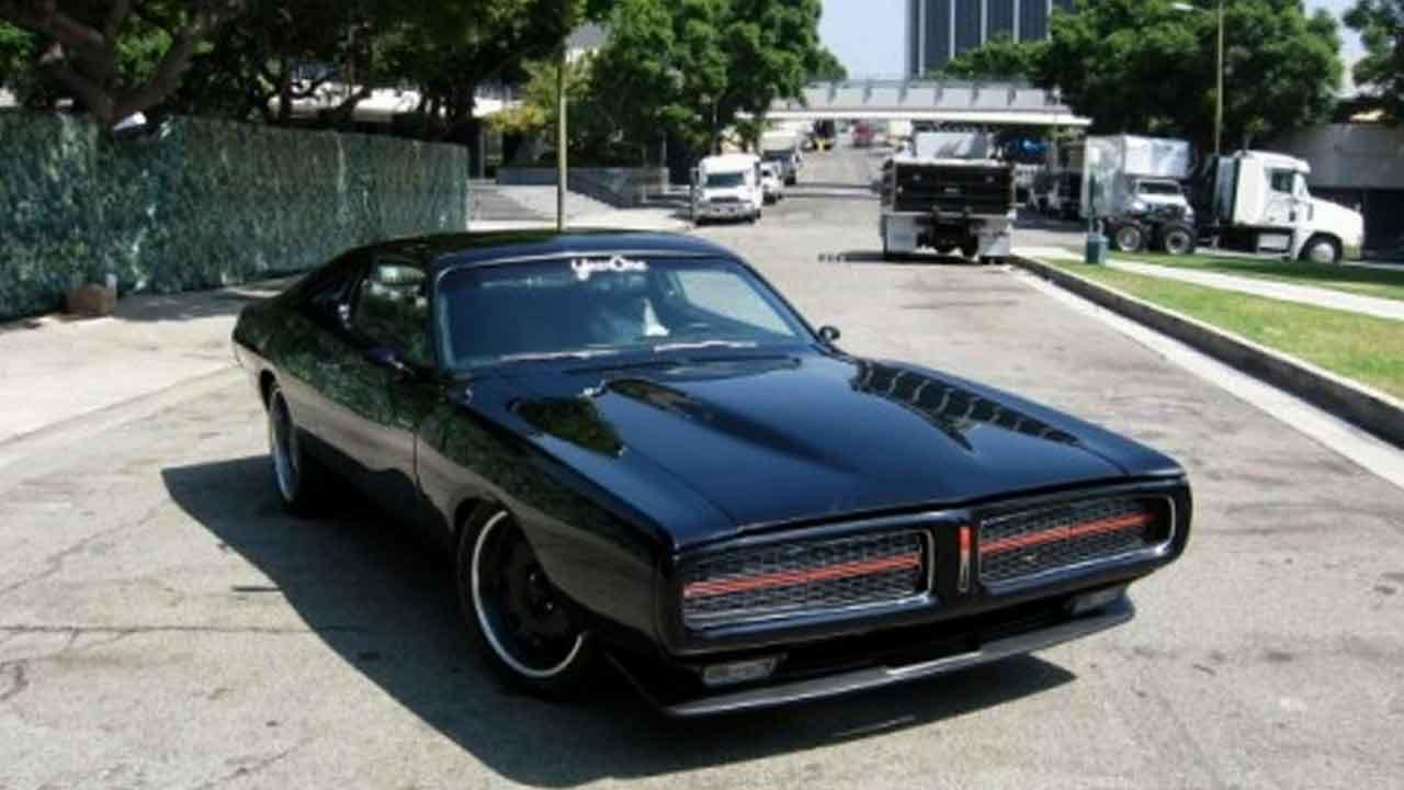 A custom 1972 black Dodge Charger was stolen from Picture Car Warehouse on the 8400 block of Reseda Boulevard in Northridge Wednesday, Nov. 6, 2013.