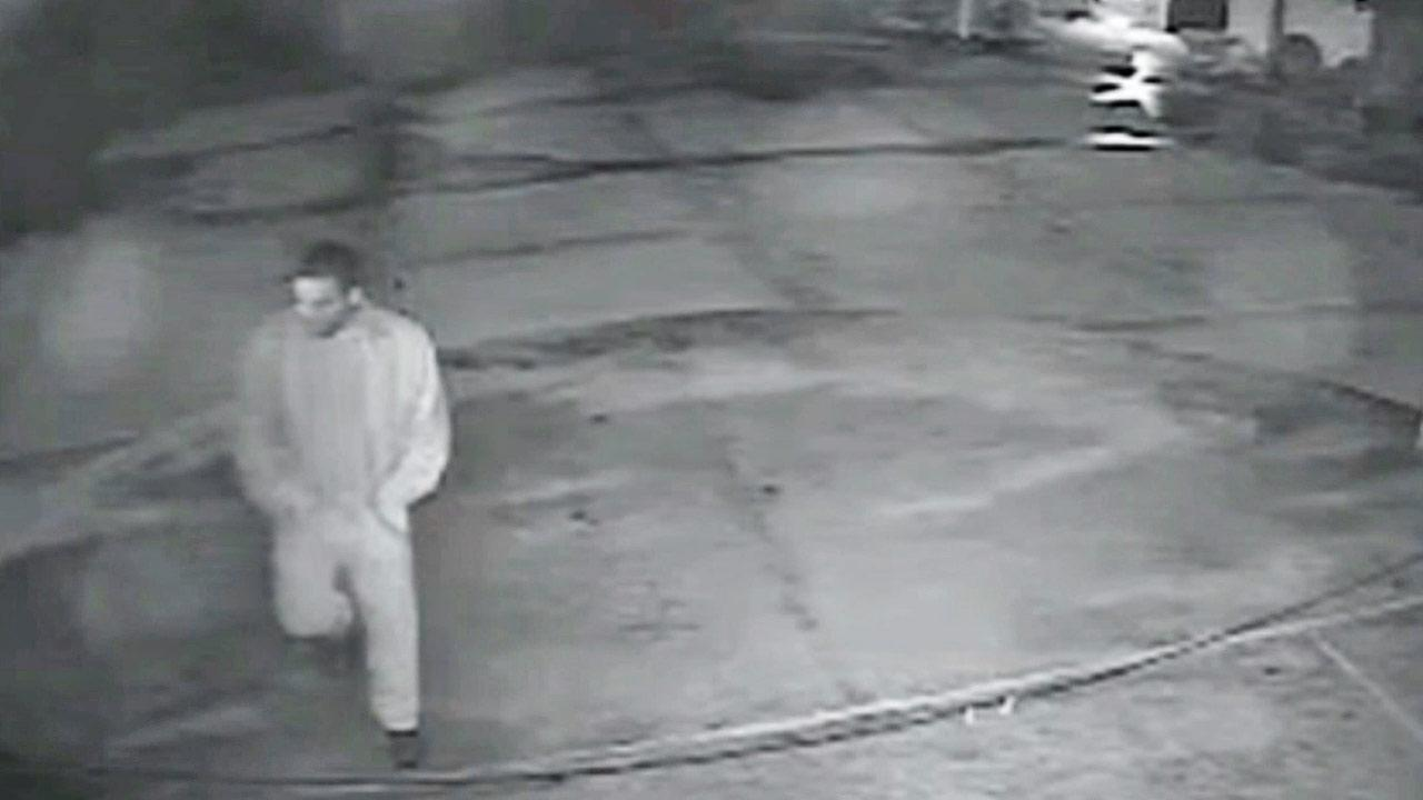 A suspect set approximately six fires on the campus of Robinson Elementary School at 80 Morningside Drive in Manhattan Beach between 12:24 a.m. and 1:14 a.m. on Sunday, November 17, 2013.