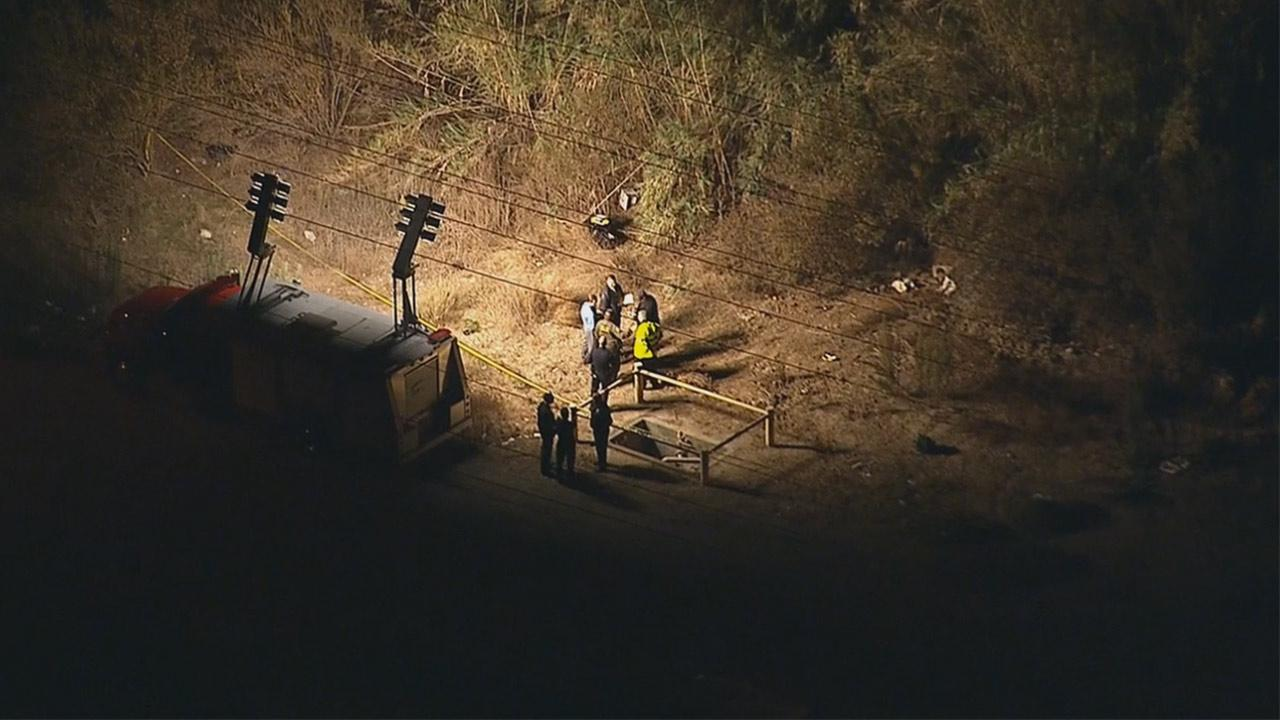 Remains were found in the 900 block of Lincoln Avenue in Montebello on Tuesday, Dec. 3, 2013.