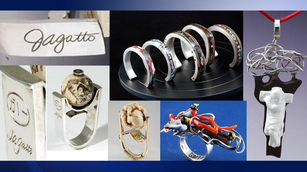 Jewelry belonging to murder victim Joseph Gatto, the father of California Assemblyman Mike Gatto, was stolen. The LAPD say the pieces may have been purchased of sold by pawn shops.