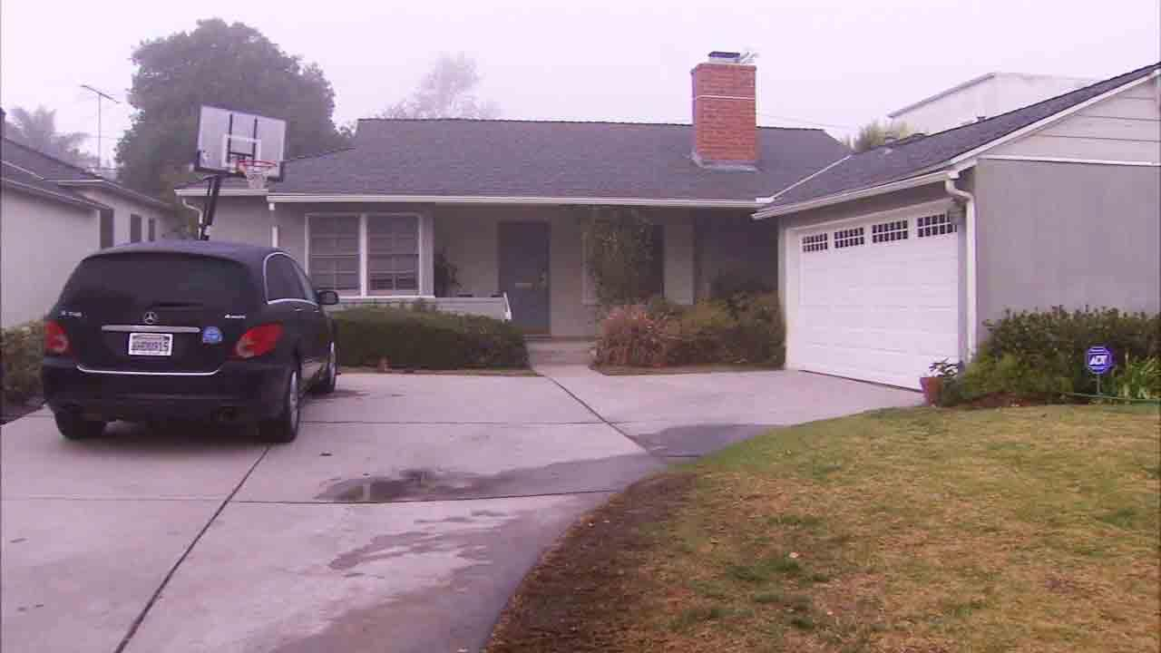 Amir Wolf, 47, was shot while getting out of his car in the driveway of his home on the 4900 block of Rupert Avenue in Encino on Wednesday, Jan. 18, 2014.