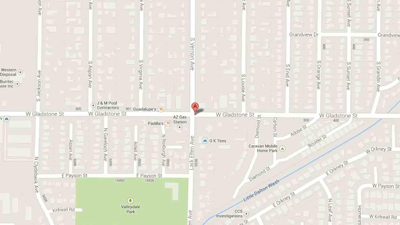 A map indicates the area near El Palenque bar on the 17000 block of Gladstone Avenue in Azusa where Lunden Lewis, 29, of Azusa was arrested for assault Friday, Jan. 24, 2014.