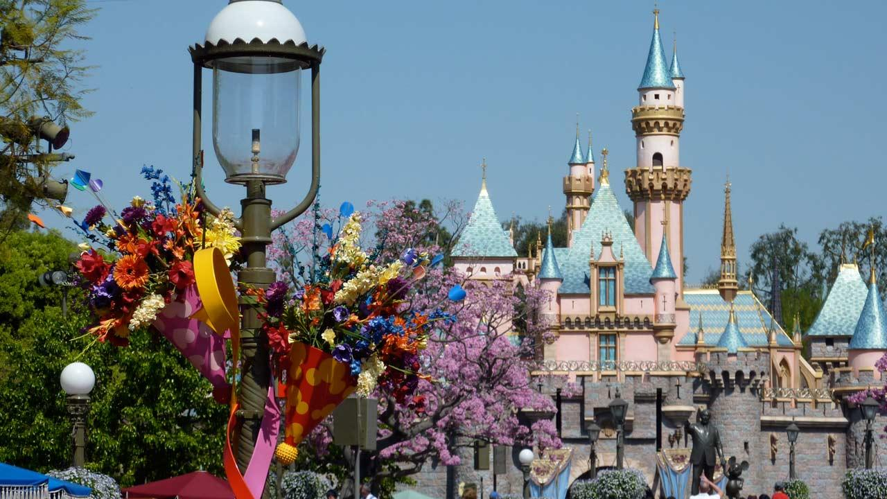 Disneylands Sleeping Beauty Castle is seen in this undated file photo.