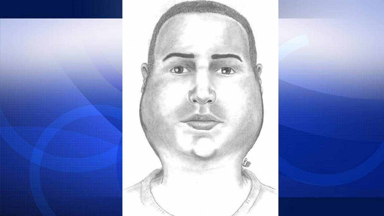 Police released this sketch of a suspect behind a sexual assault case in downtown Fullerton on Aug. 8, 2012.