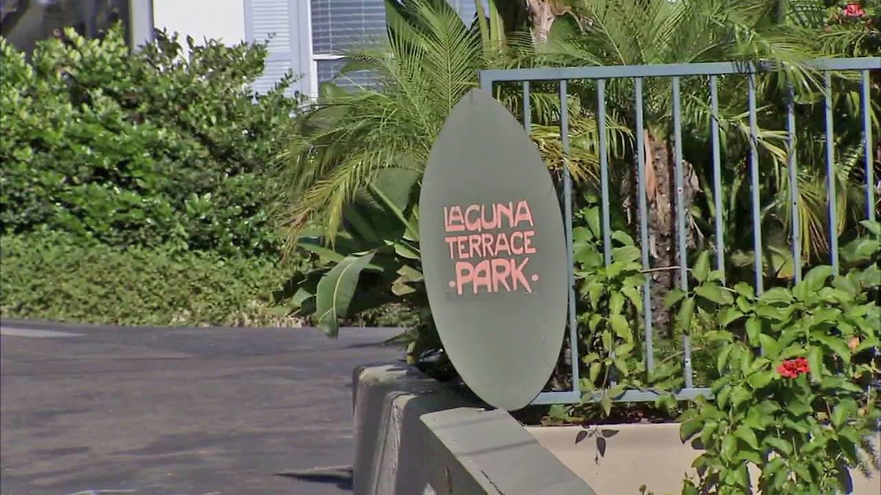 Laguna Beach Police responded to a brutal home invasion at a mobile home in Laguna Terraces Trailer Park located at 30802 Pacific Coast Highway Saturday, Oct. 13, 2012.