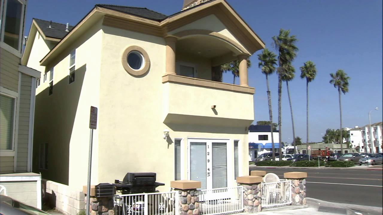 Police say two people were kidnapped from this Newport Beach home.