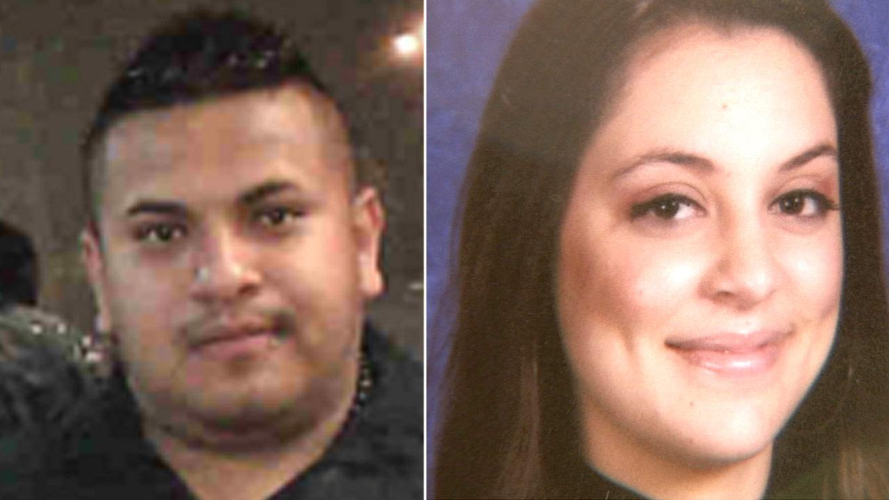 Authorities say Luis Antonio Garcia Morales (left) was involved in the fatal stabbing of Maria Isabel Cerrillo, whose body was found in an alley in Santa Ana on Tuesday, Nov. 13, 2012.