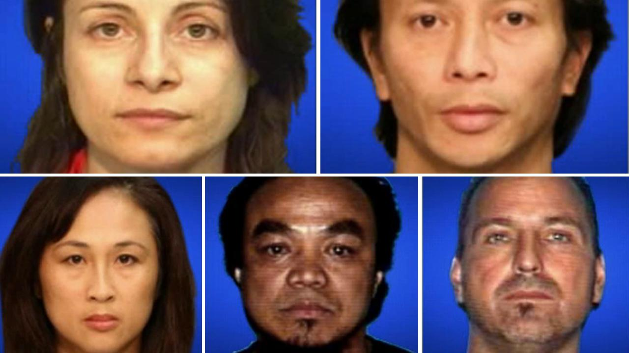Top row, left-right: Norma Esparza, Gianni Van; Bottom row, left-right: Diane Tran, Kody Tran, Shannon Gries