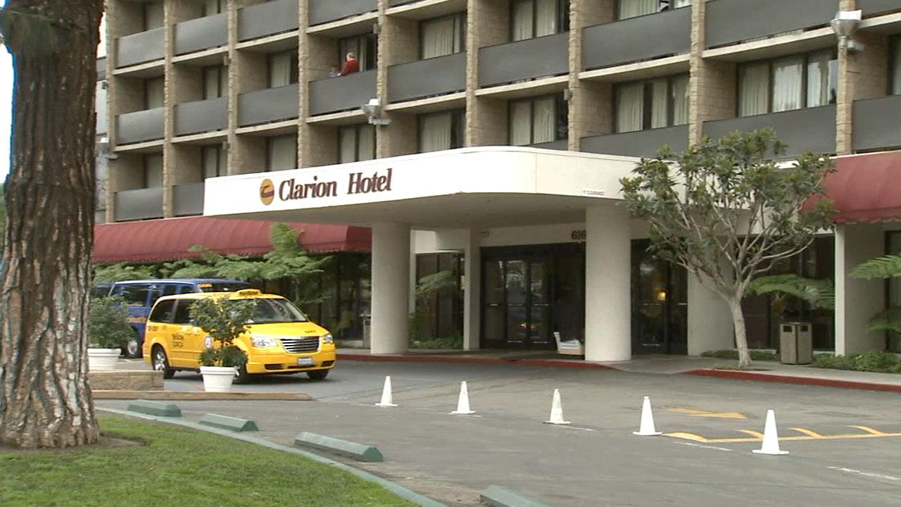 The Clarion Hotel at 616 W. Convention Way, Anaheim, on Wednesday, Jan. 23, 2013.