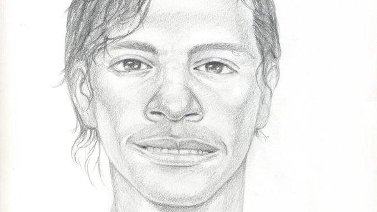 The Santa Ana Police Department released this sketch of a suspect wanted for attacking a woman in the driveway of her home on Sunday, Jan. 20, 2013.