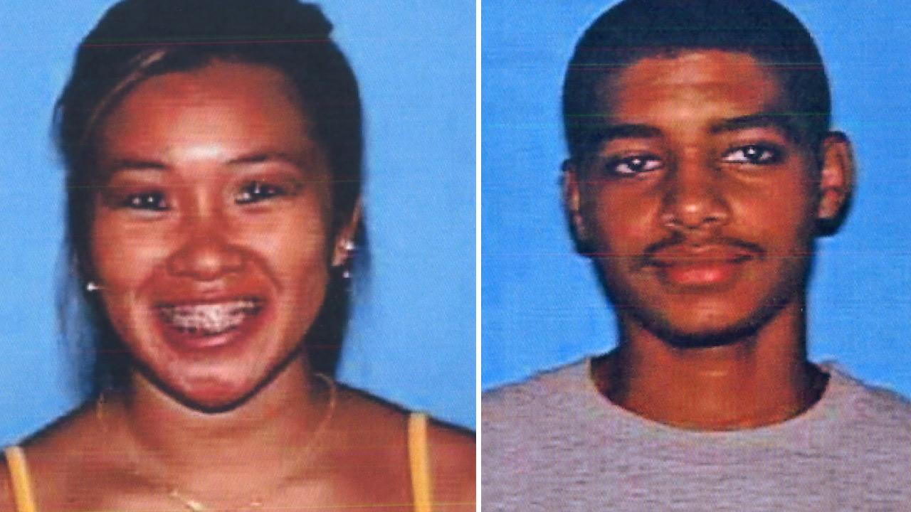 This split image shows Monica Quan, 28, (left), and Keith Lawrence, 27 (right). Both were found shot to  death in a car in Irvine in an apparent double-homicide on Sunday, Feb. 4, 2013.