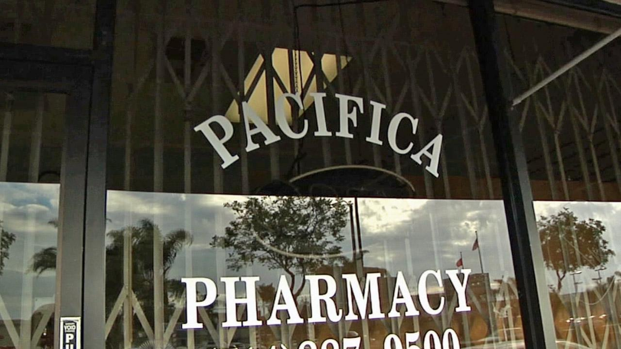 Pacifica Pharmacy in Huntington Beach was shut down after investigators determined that it was filling tens of thousands of suspicious prescriptions for painkillers, many from Dr. Lisa Tseng, who is facing trial for second-degree murder.
