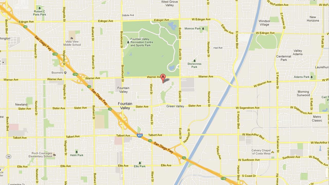 Fountain Valley police officers responded to a report of a burglary at a residence on the 10600 block of El Silbido at 3:30 a.m. Sunday, March 3, 2013.