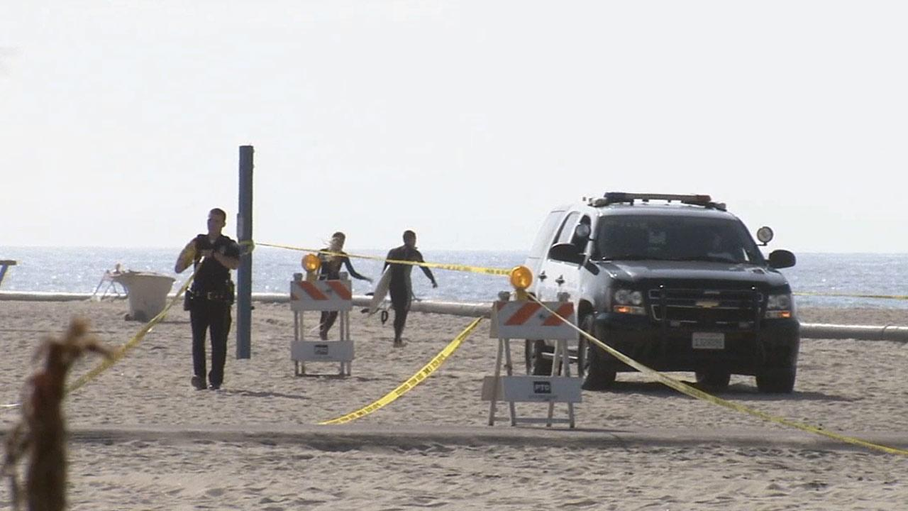 An investigation is under way in Newport Beach into what authorities are calling a suspicious death after a womans body was found face down on Monday, March 4, 2013.