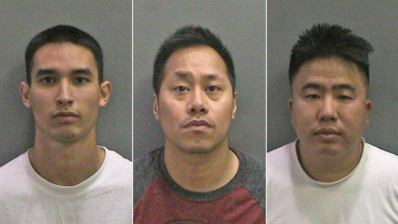 Vu Doan (L), Howard Arca (center), Don Nguyen (R)