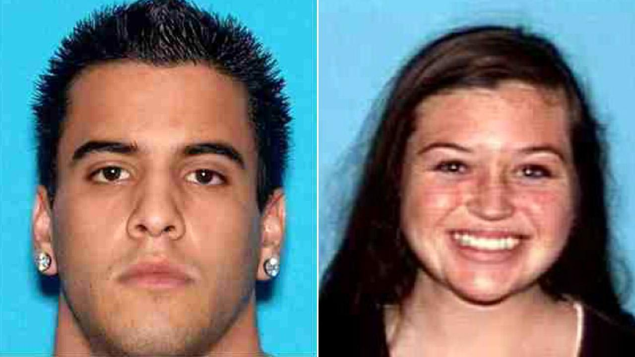 Nicholas Cendoya, 19, and Kyndall Jack, 18, both of Costa Mesa, are seen in these photos released by the Orange County Sheriffs Department.