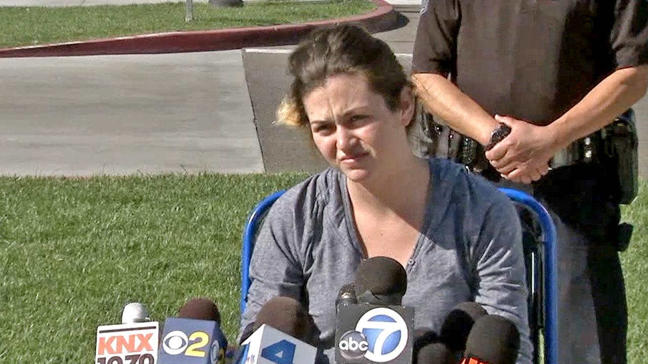 Kyndall Jack, an 18-year-old hiker who went missing in Trabuco Canyon on Easter Sunday, spoke for the first time Monday, April 8, 2013, since being rescued.