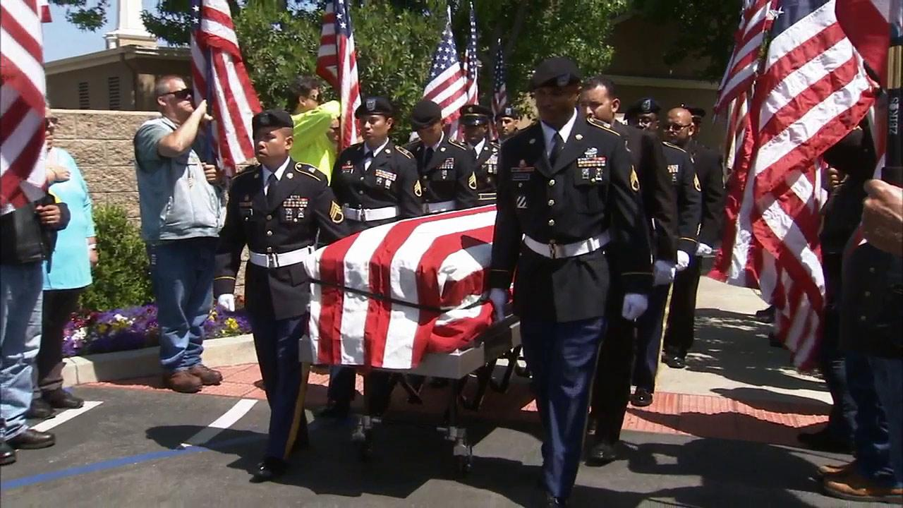 Funeral services were held Sunday, June 02, 2013, for Maribel Ramos, a Cal State Fullerton student who was murdered last month.