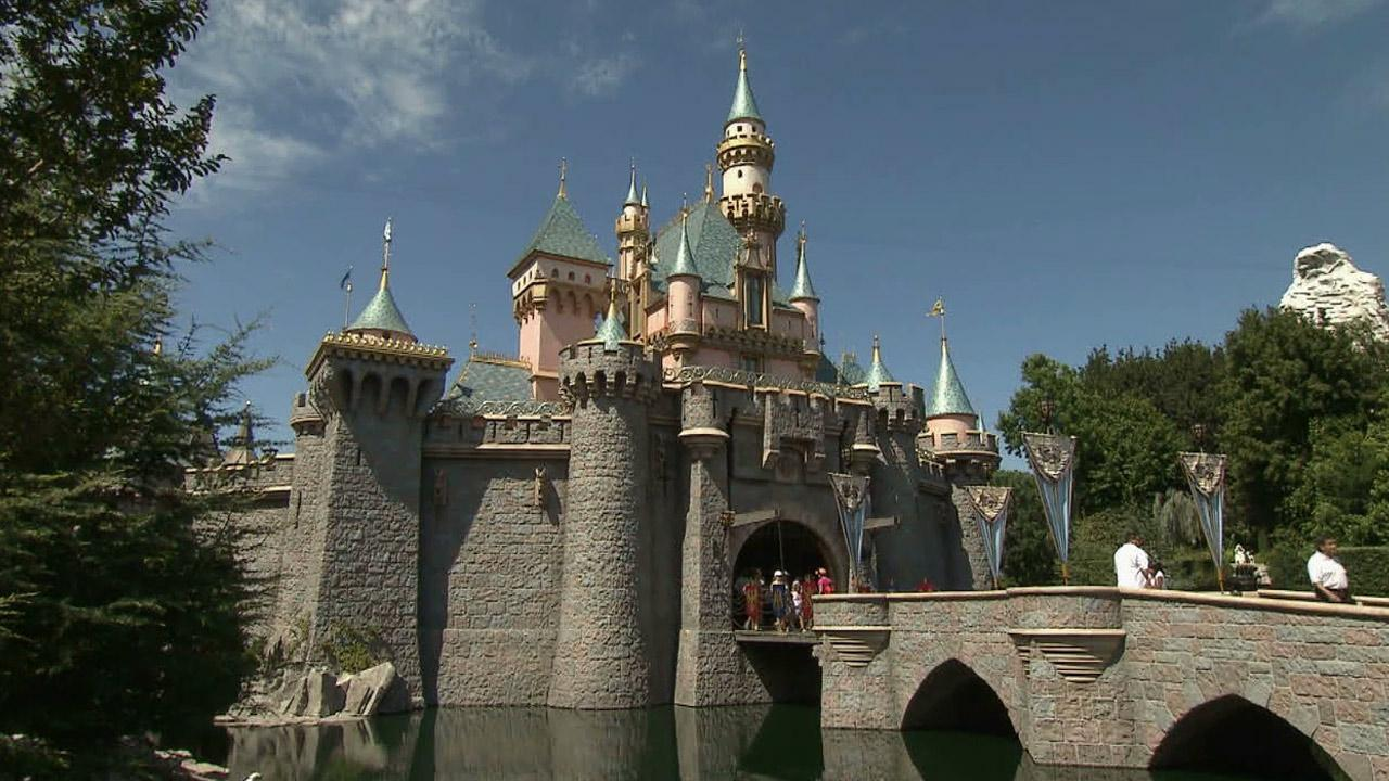 Sleeping Beauty Castle at Disneyland Park in Anaheim, Calif. is seen in this undated file photo.