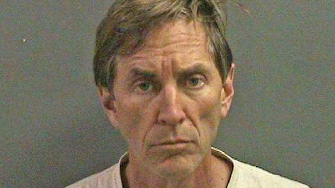 Jeffrey Jones of Huntington Beach is seen in this mugshot provided by the Huntington Beach Police Department.