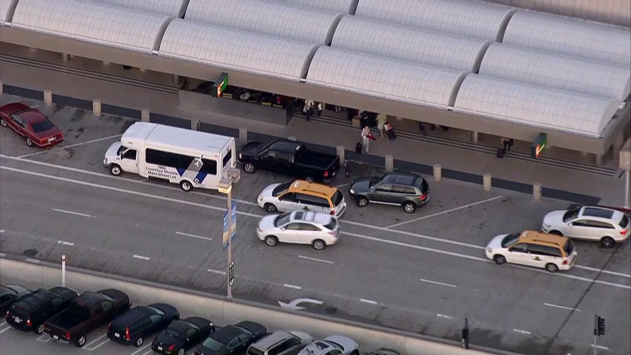 John Wayne Airport in Santa Ana is seen in this undated file photo.