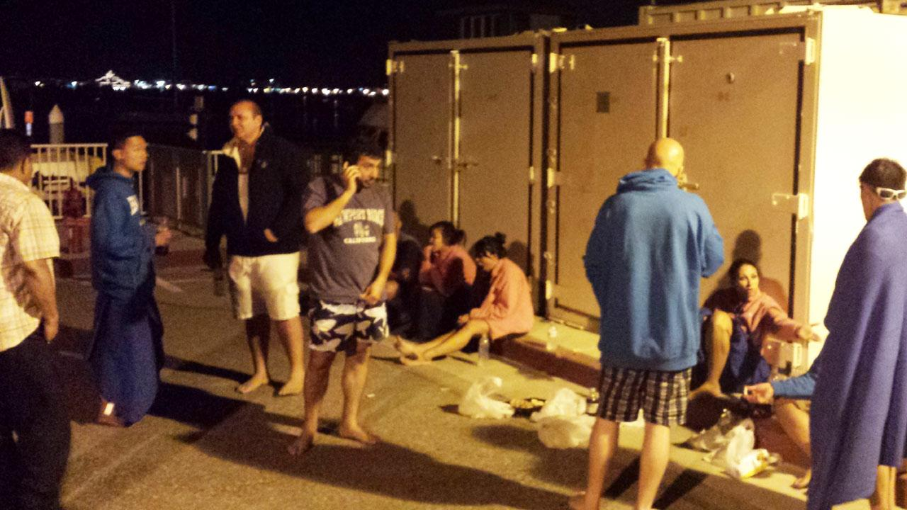 A boat crashed into the Balboa Pier near Balboa Boulevard and A Street in Newport Beach Sunday, Sept. 1, 2013.