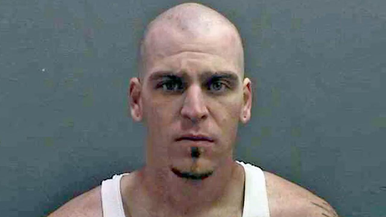 Austin Farley, 28, is shown in an undated booking photo.