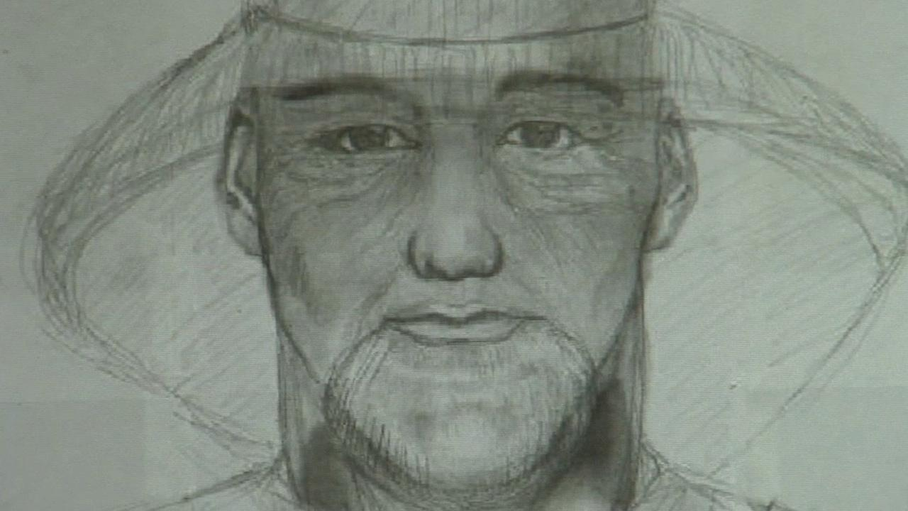 A police sketch shows a man who authorities believe has been stealing copper pipes from Orange County businesses.