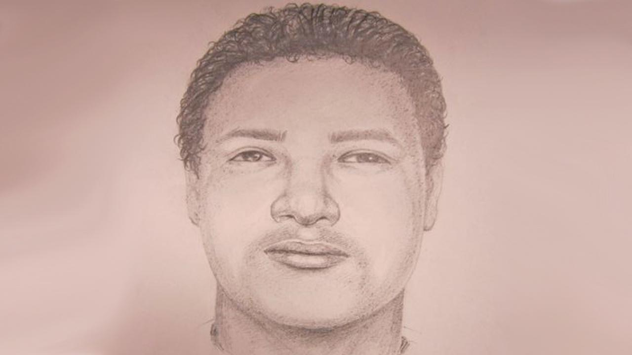 Huntington Beach police released this composite sketch of an armed robbery and sexual battery suspect who attacked a woman on Thursday, Oct. 3, 2013.