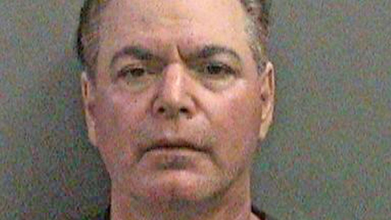 Scott Ruvolo, 56, is shown in a booking photo. Ruvolo was arrested for allegedly attempting to record women changing in the dressing room in Fountain Valley.