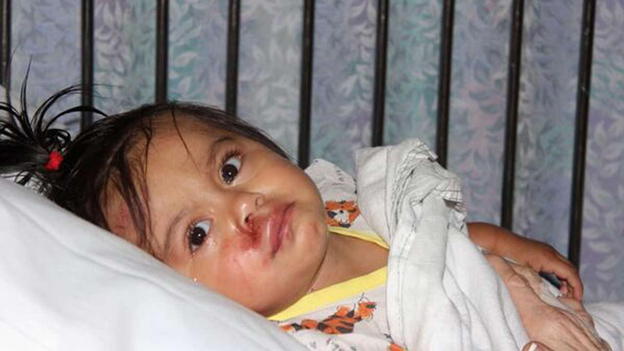 A 13-month-old baby was found injured next to her mother near Edinger Avenue and Raitt Street in Santa Ana on Thursday, Oct. 31, 2013.