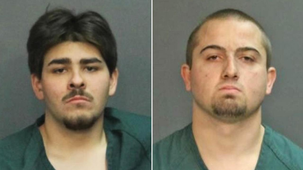 Gabriel Sauceda, 22, and Chad Walker, 20, are shown in police booking photos taken November 2013.