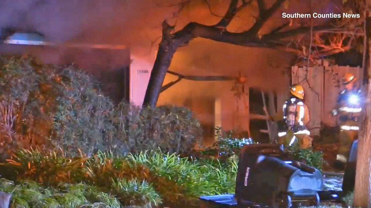 A man was found dead in a house fire in Orange Thursday, Dec. 19, 2013, that may have been sparked by hoarding conditions.