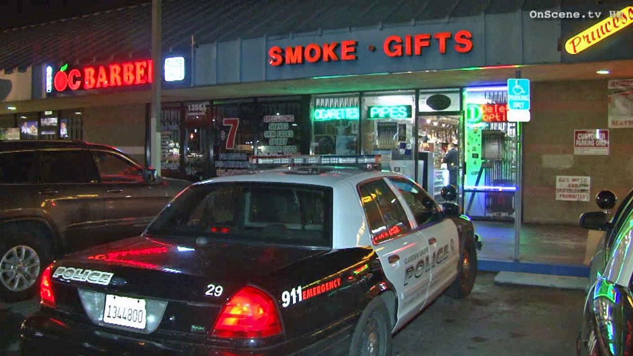 Robbers targeting smoke shops in garden grove Garden grove breaking news now