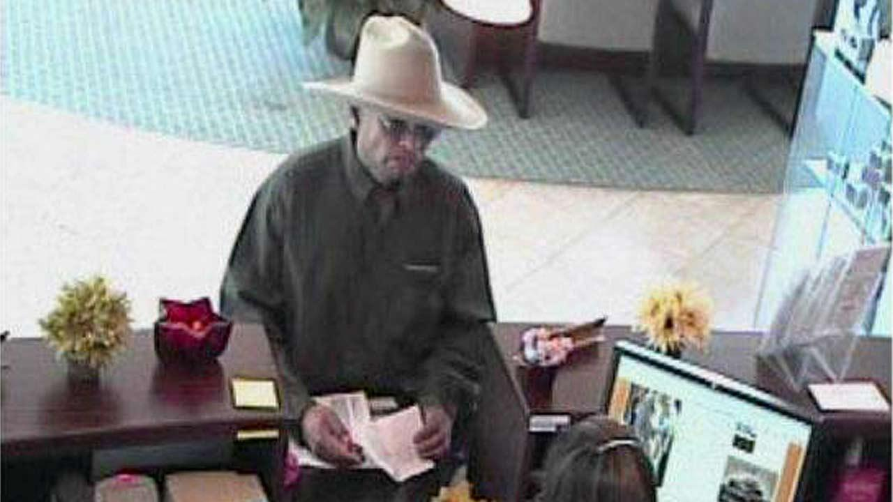 Police are seeking a male suspect who robbed a bank in Ventura Friday afternoon, Sept. 14, 2012.