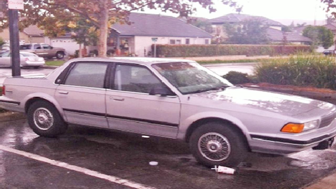 Suspect Sergio Rivas vehicle