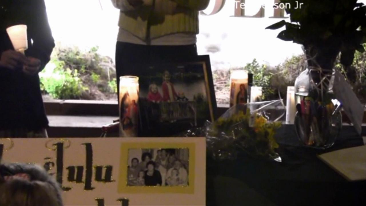 A candlelight vigil was held in Thousand Oaks Sunday, Nov. 4, 2012, for two children stabbed to death in New York, allegedly by their nanny.