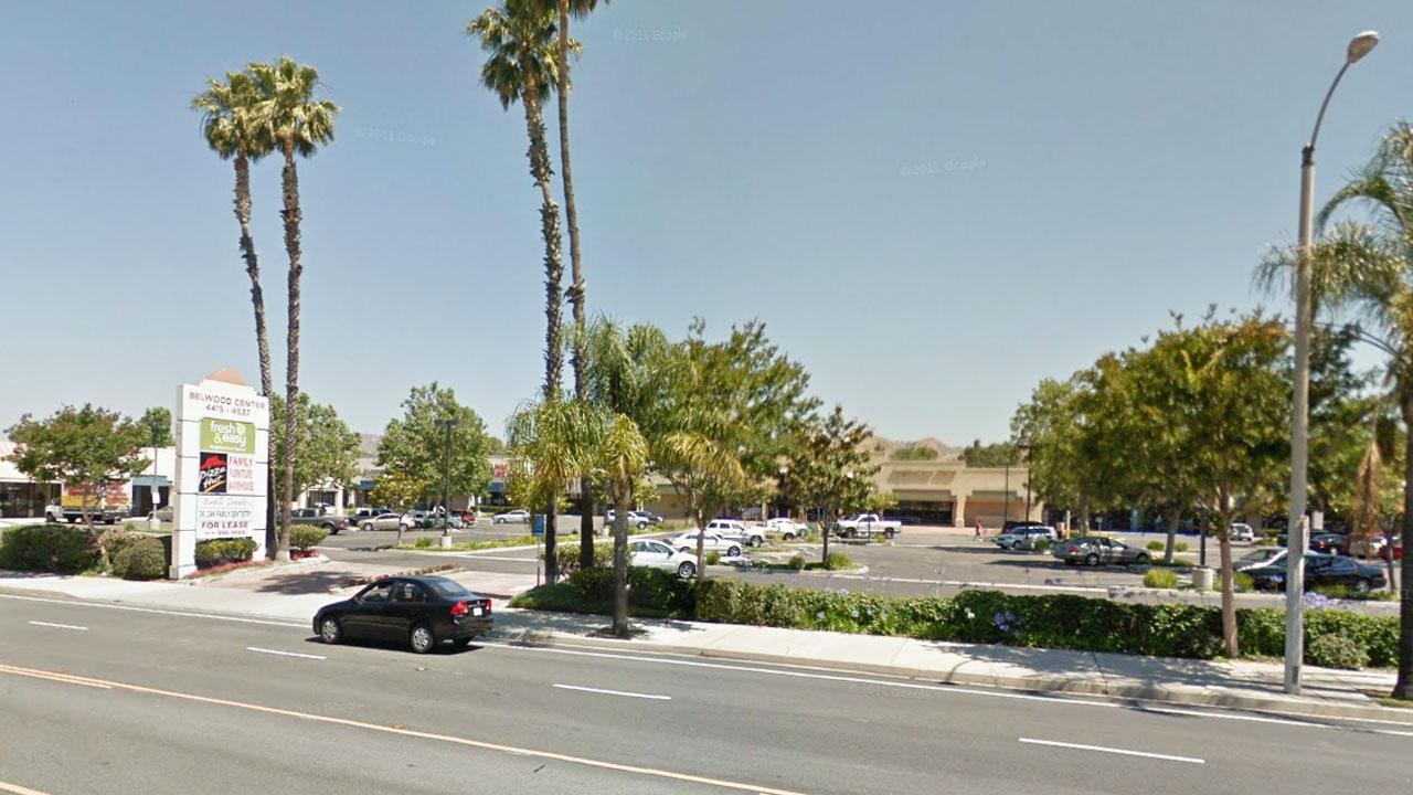 An armed robbery was reported at a Pizza Hut restaurant in Simi Valley Tuesday, Feb. 19, 2013.