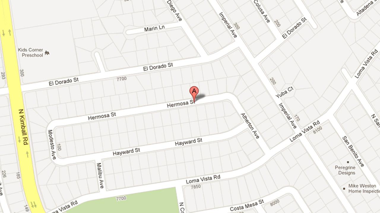 At least two suspects attempted to break into a home on the 7900 block of Hermosa Street in Ventura Sunday, March 31, 2013.