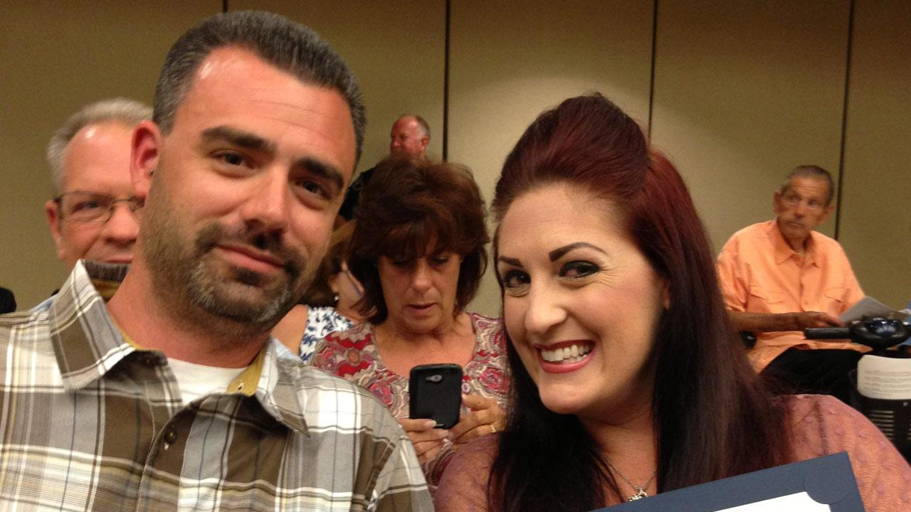 Monday, June 13, 2013, the Simi Valley City Council recognized Phil Wright and fiancee Kristee Diersing for saving a childs life.