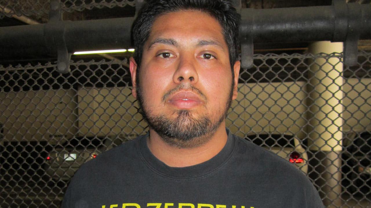 Israel Barajas, 29, is seen in this booking photo provided by the Simi Valley Police Department on Monday, July 22, 2013.