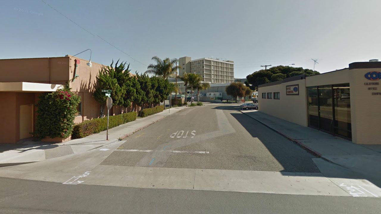 Cabrillo Drive and Main Street, Ventura, Calif.