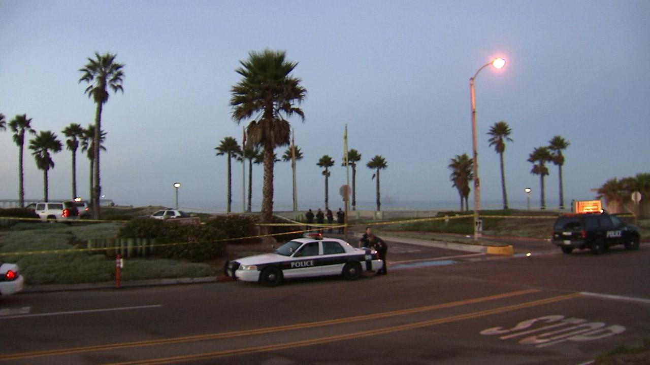 An investigation is underway in Port Hueneme after a fatal officer-involved shooting Friday, Sept. 6, 2013.
