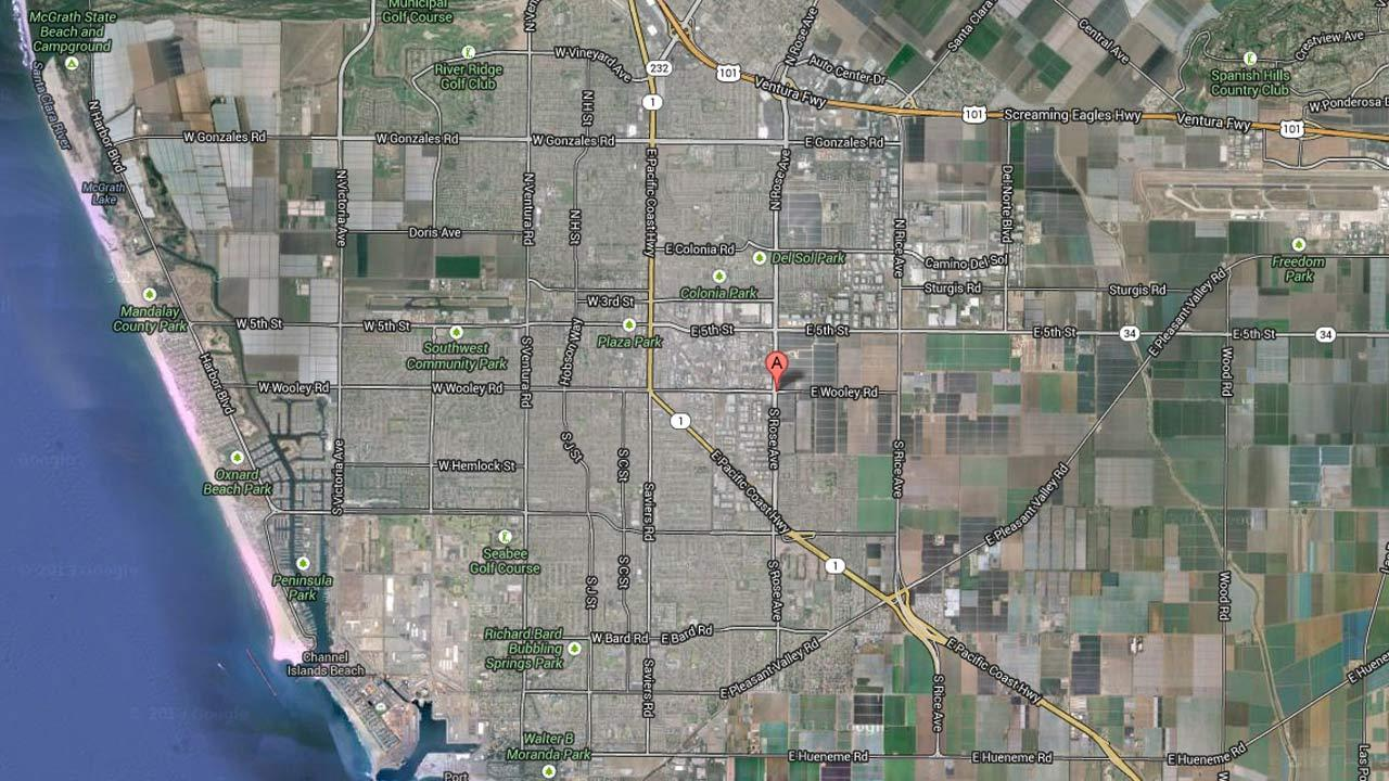 An Oxnard stabbing suspect was located and arrested in the area of Wooley Road and Rose Avenue Friday, Sept. 20, 2013.